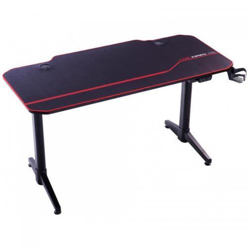 Birou Gaming Inaza PowerUp X2, Black-Red