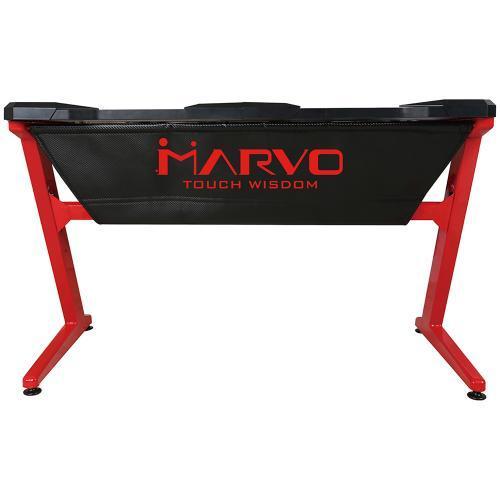 Birou gaming Marvo DE-02, Black-Red