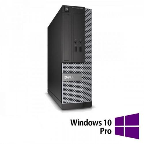 Calculator Refurbished DELL 3020 SFF, Intel Core i3-4130 3.40 GHz, 4GB DDR3, 500GB HDD + Windows 10 Pro