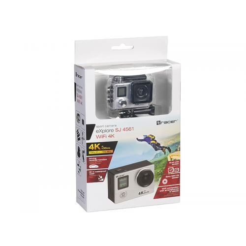 Camera Video Actiune Tracer eXplore SJ 4561, Black-Silver