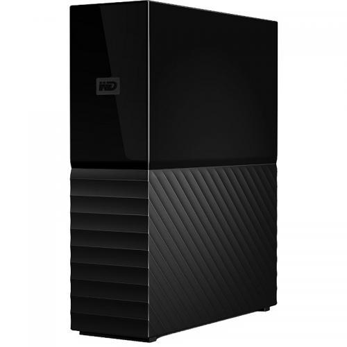 Hard disk Portabil Western Digital My Book New 4TB, USB 3.0, Black