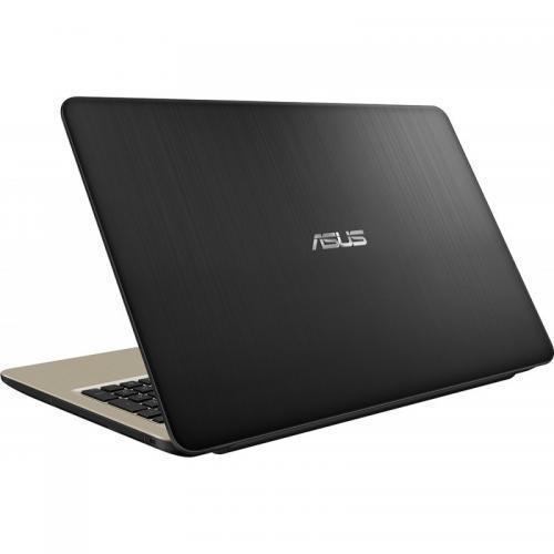 Laptop Asus VivoBook 15 X540UA-DM1151, Intel Core i3-7020U, 15.6inch, RAM 4GB, HDD 1TB, Intel HD Graphics 620, Endless OS, Chocolate Black