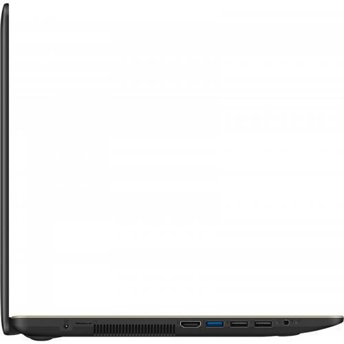 Laptop ASUS VivoBook 15 X540UB-DM1060, Intel Core i3-7020U, 15.6inch, RAM 4GB, SSD 256GB, nVidia GeForce MX110 2GB, Endless OS, Chocolate Black
