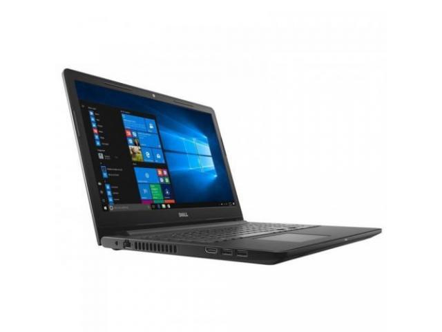 Laptop Dell Inspiron 3576 (3000 Series), Intel Core i5-8250U, 15.6inch, RAM 8GB, SSD 256GB, AMD Radeon 520 2GB, Linux, Black