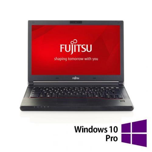 Laptop Refurbished FUJITSU SIEMENS Lifebook E554, Intel Core i5-4210M 2.60GHz, 8GB DDR3, 240GB SSD, 15.6 Inch + Windows 10 Pro