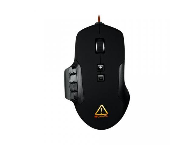 Mouse Optic Canyon Despot, RGB LED, USB, Black