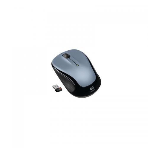 Mouse Optic Logitech M325 Light, USB Wireless, White-Silver